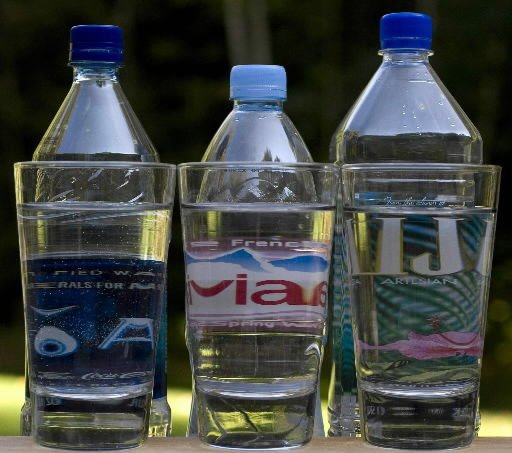 What's in your bottled water?