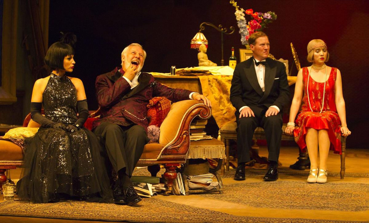 Brisk repartee: Coward's wit mark Gate Theatre's production of 'Hay Fever'