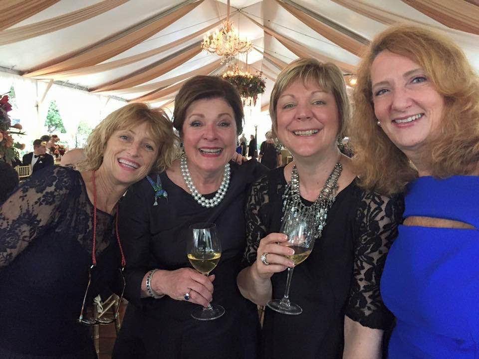 Dorothea Benton Frank and friends