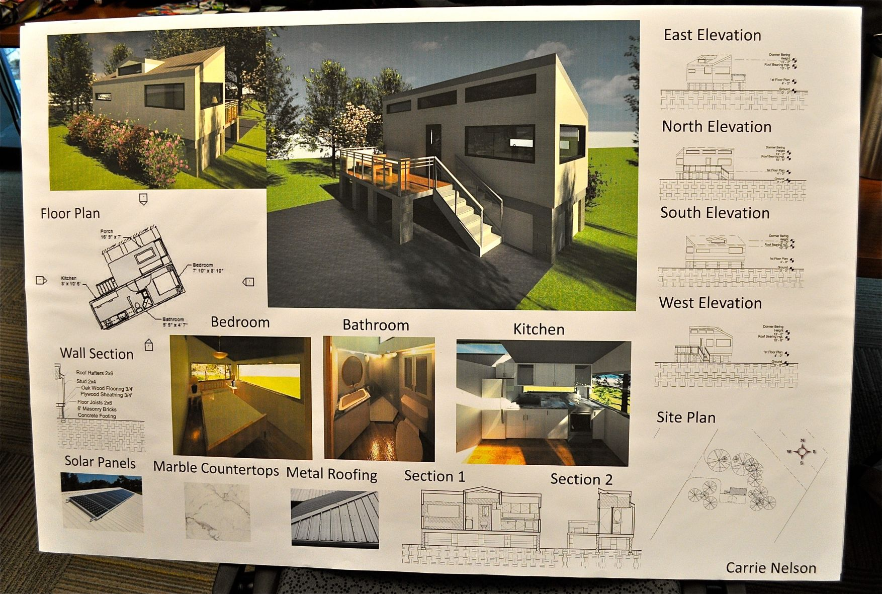 tiny house design project for students a perfect match for wando rh postandcourier com