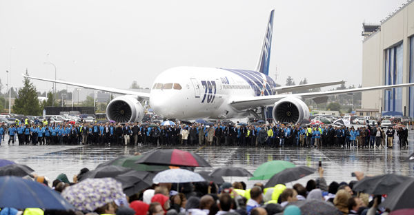 Boeing delivers first 787: All Nippon Airways gets key to Dreamliner in ceremony marking triumph over challenges