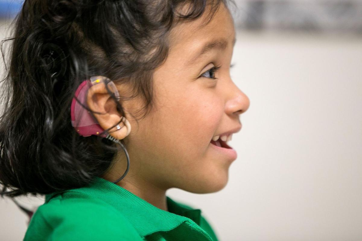 Device tested to help deaf children hear