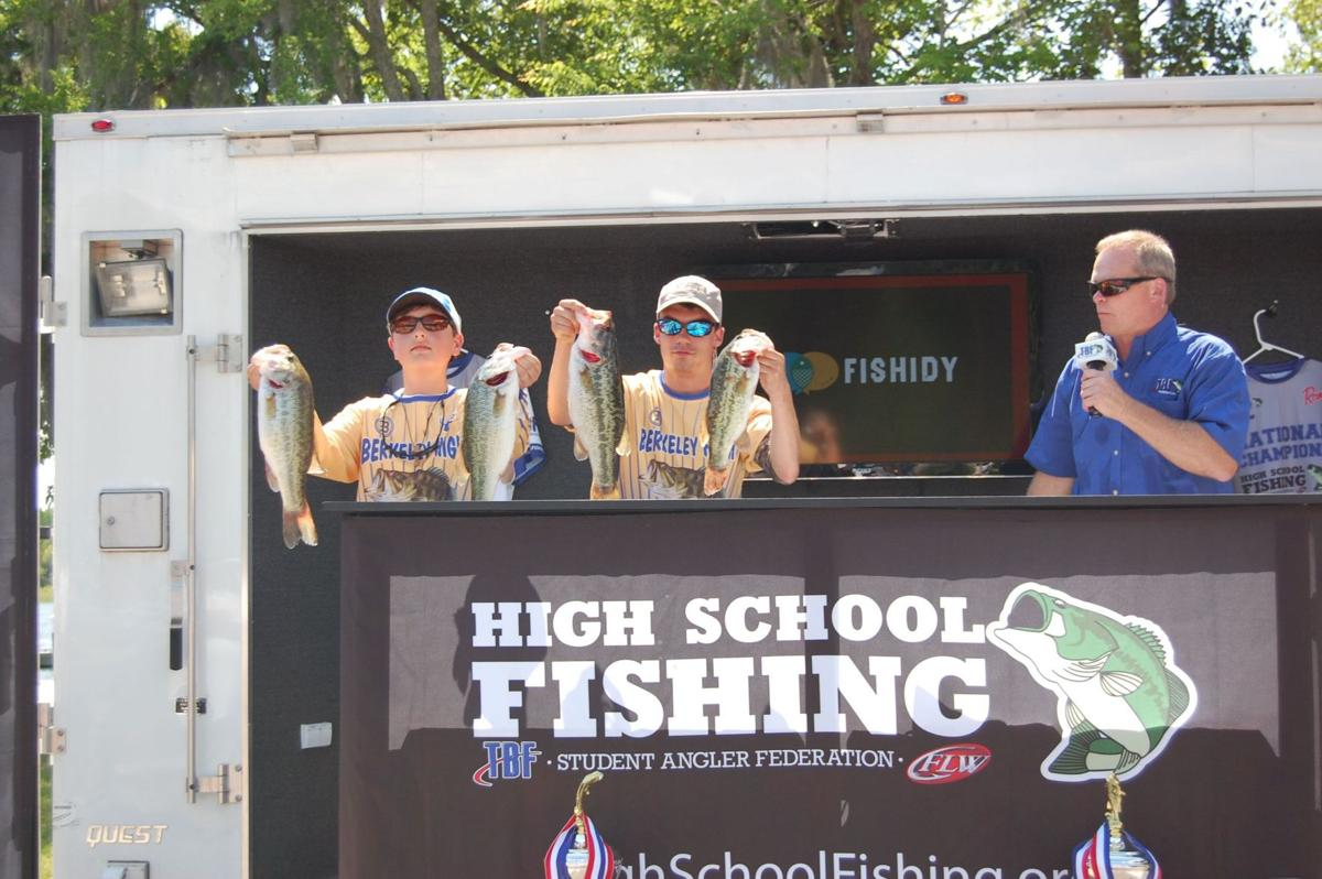 Berkeley anglers place 2nd in state high school tournament