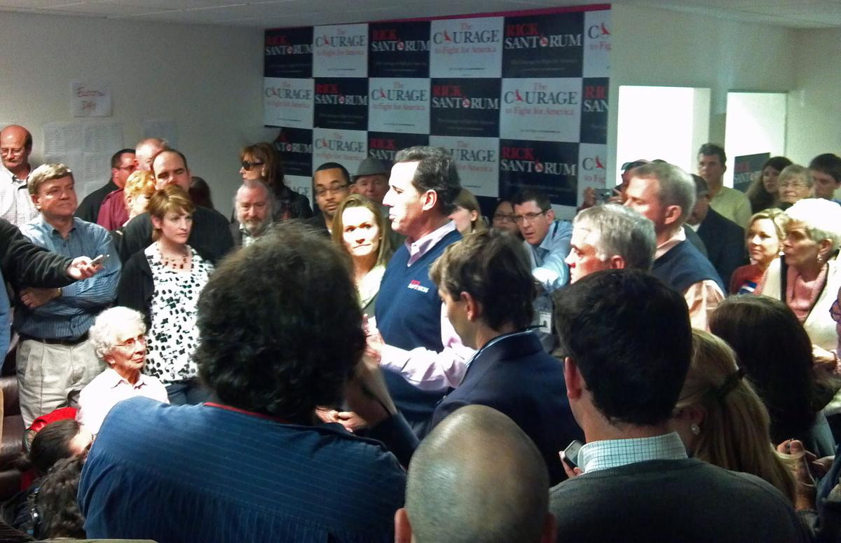 Santorum basks in new endorsements