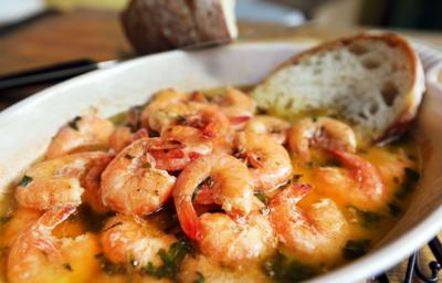 Nathalie Dupree's baked creole shrimp