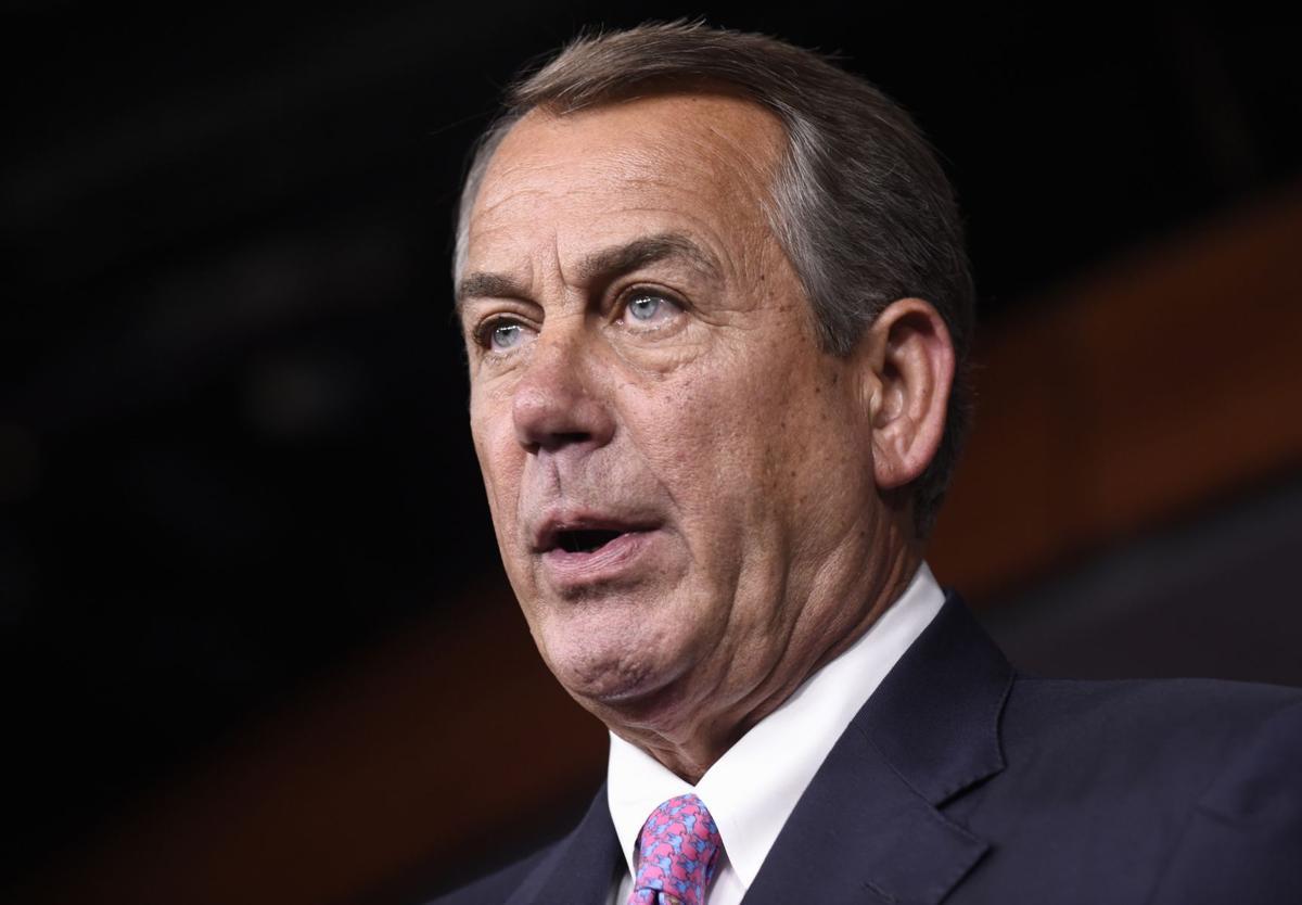 Speaker Boehner stuns Congress, announces resignation