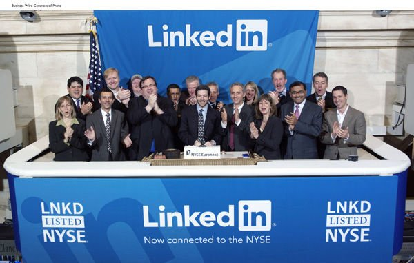 IPO for LinkedIn explodes: Shares open at $45, leap to $122.70 within hours