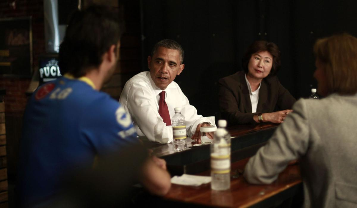Obama to have 2 chances to show global leadership