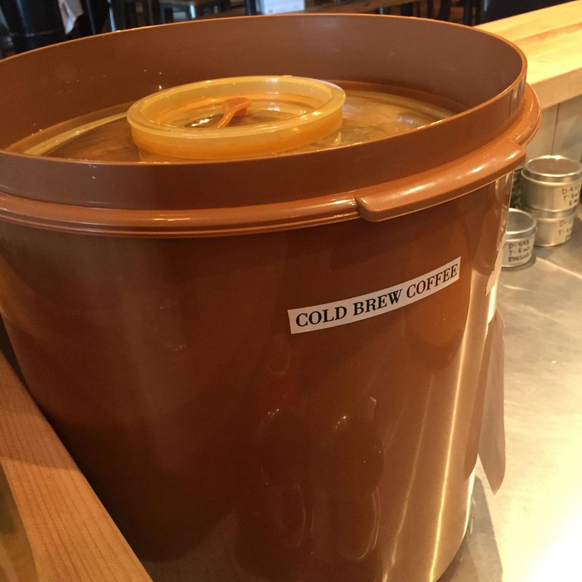 Mercantile ups its cold brew game