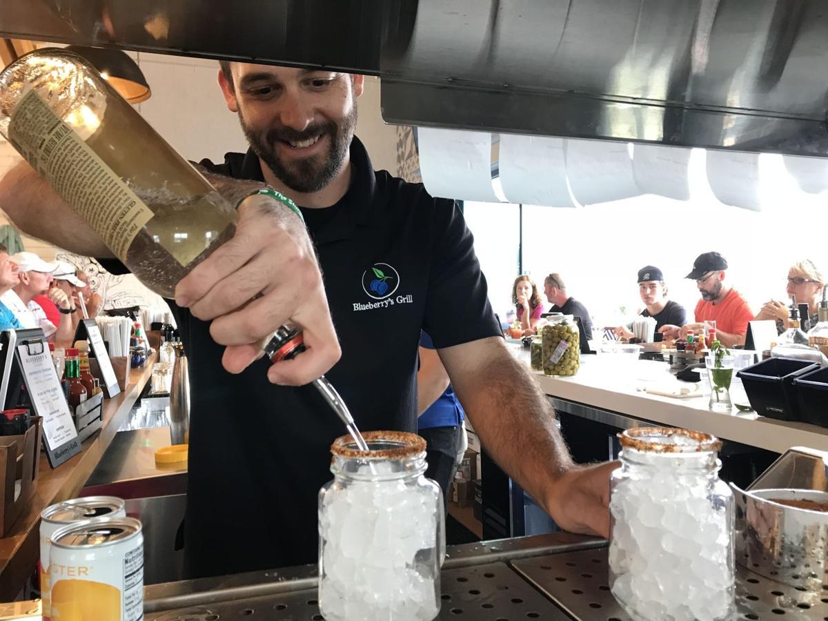 Bartender Blueberry's Grill North Myrtle Beach