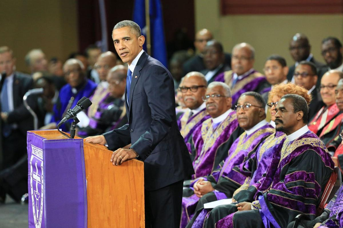 'May grace now lead them home' Charleston police in touch with families regarding security U.S. leaders to mourn with city Obama's arrival in Charleston could affect some flights FridayPolice ask for patience, planning during funeral