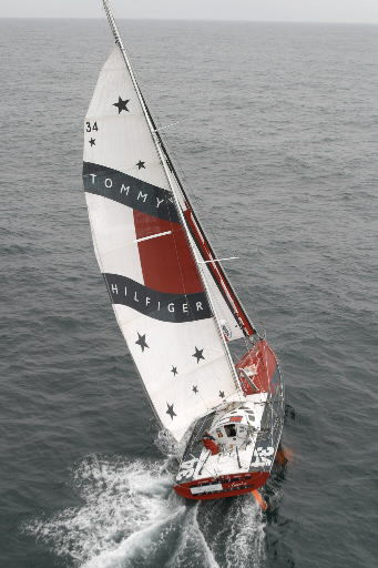 Wind in his sails: Racer hopes eco-friendly aim will draw title sponsor