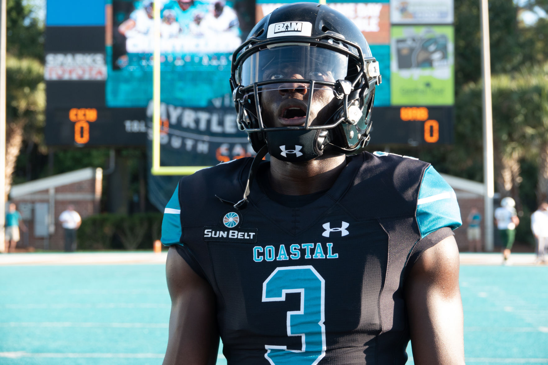 Resilient Coastal Carolina Football Team Stays Calm In Chaos Caused By Hurricane Florence Sports Postandcourier com