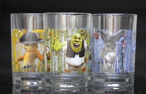 McDonald's recalling 'Shrek' glasses