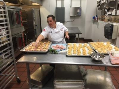 Grandmother's example inspires food bank chef