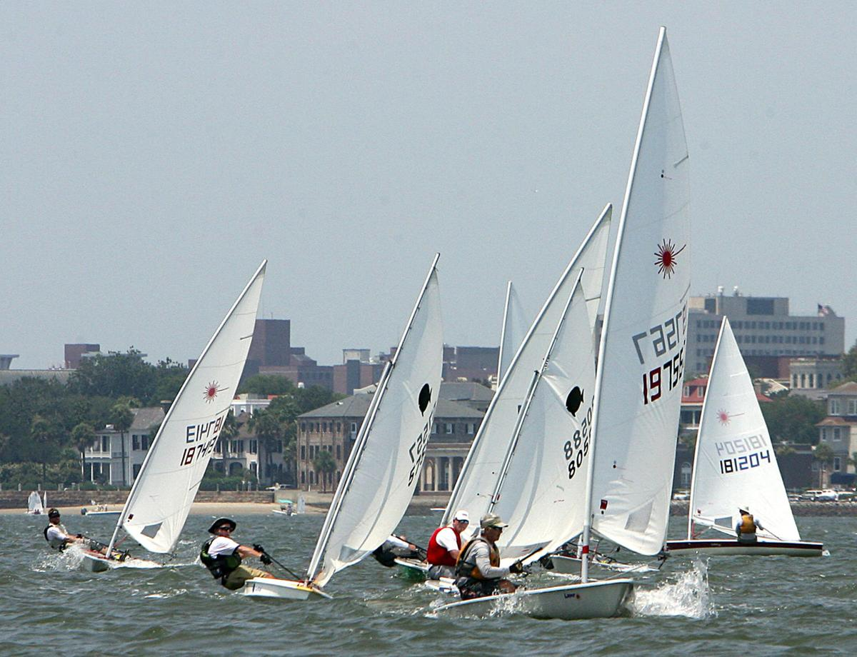 Chapin, Heath leaders in Laser Masters