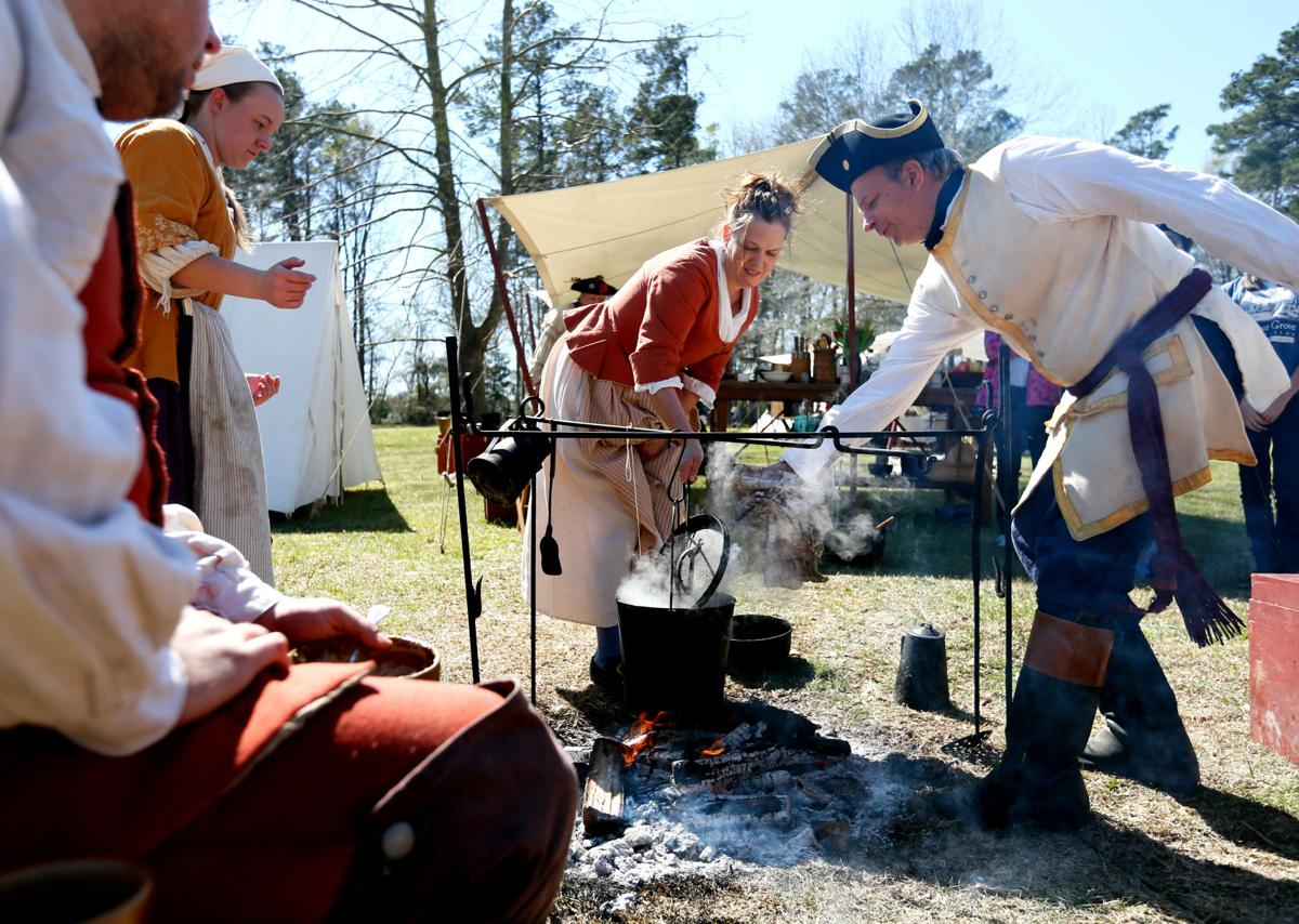 colonial days reenactment