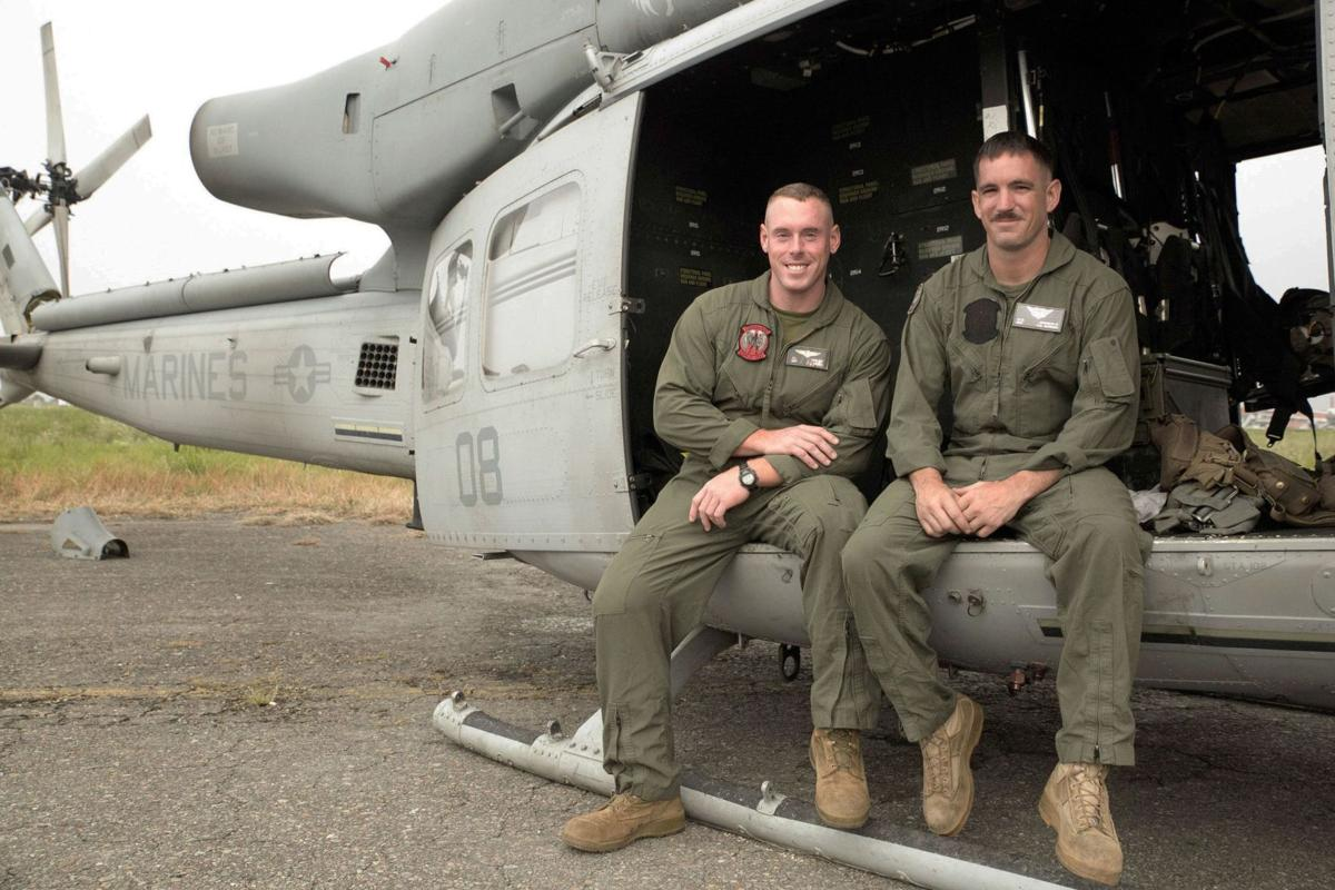 Stratford grad on missing chopper Sgt. Mark Johnson IV among Marines on Nepal relief mission