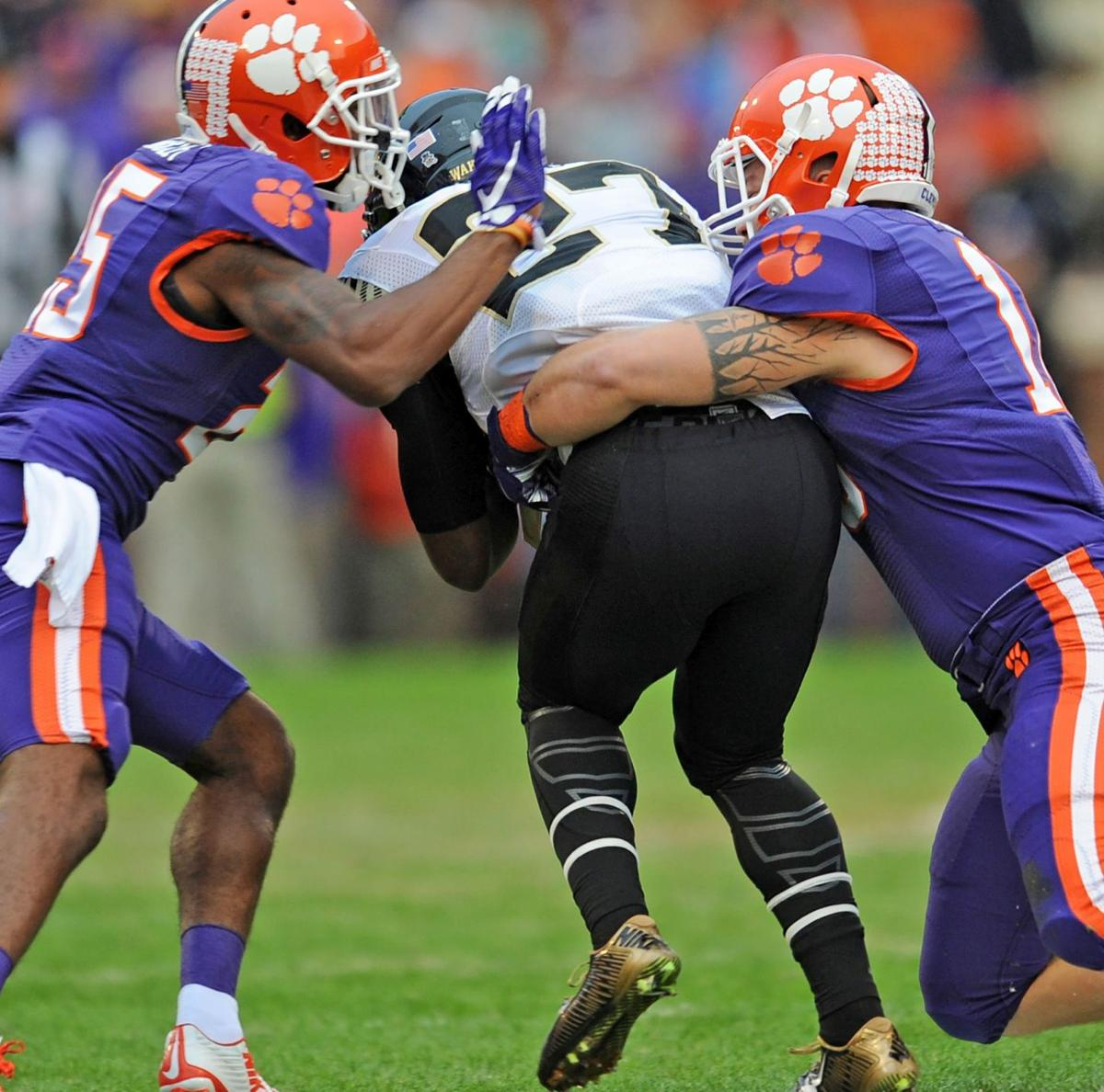 Clemson tops Wake Forest