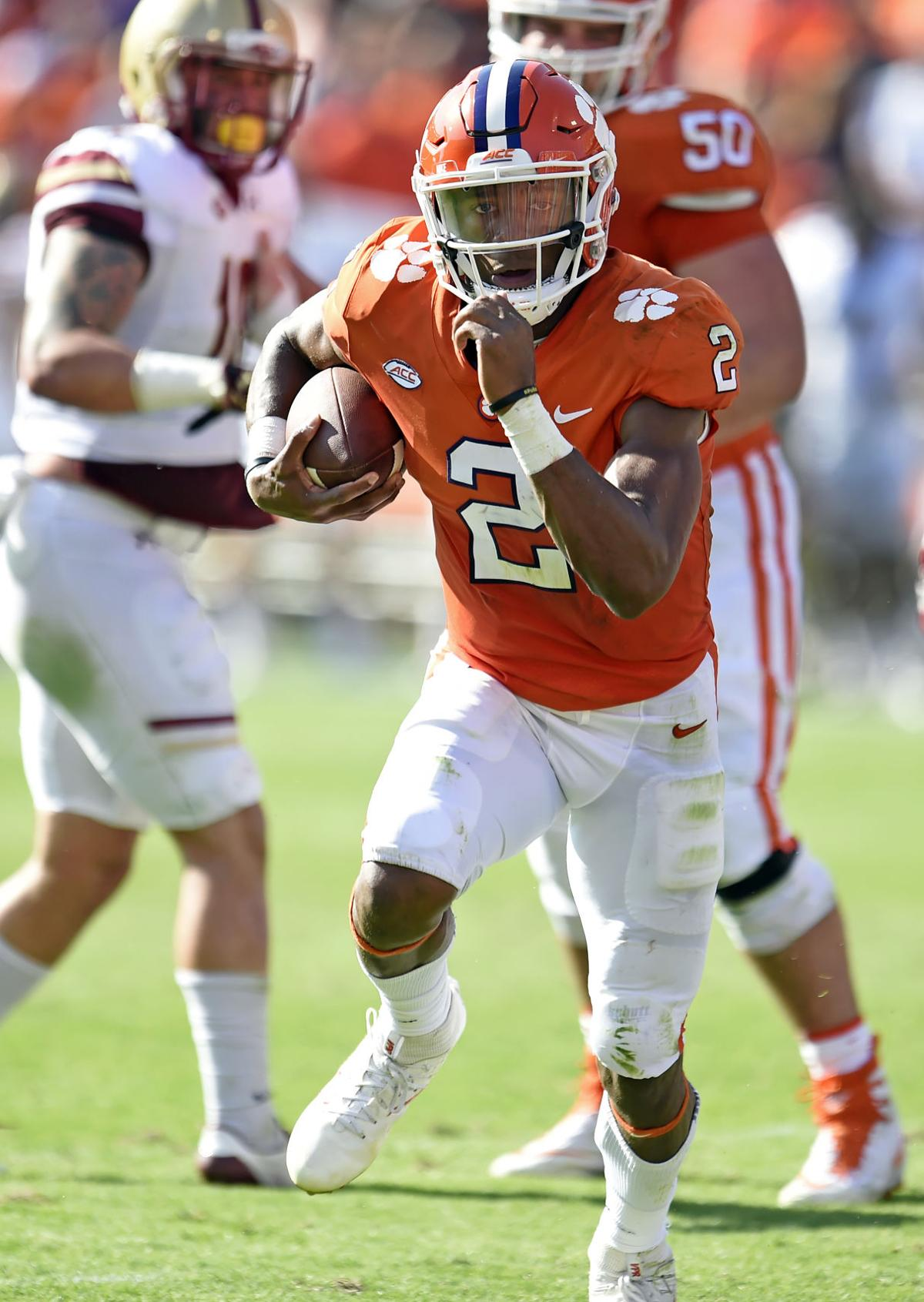 kelly bryant u0027s first clemson florida state game was 10 years ago