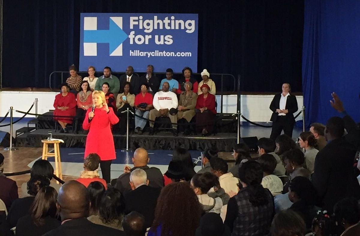Hillary Clinton unveils 'economic revitalization plan' during Denmark town hall