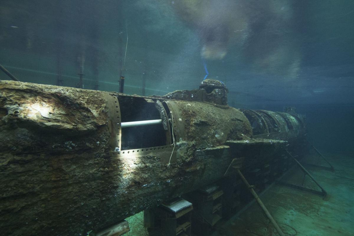 Hunley underwater (copy)