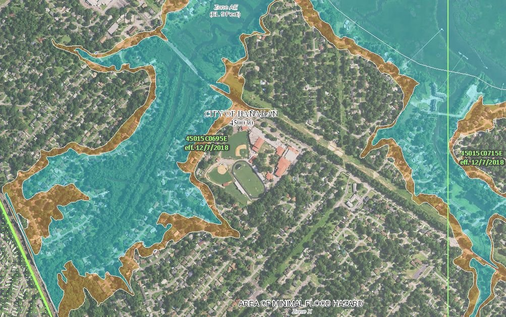 Your Berkeley County Property May Now Be In A Flood Zone After