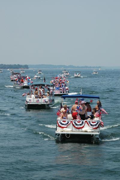 Lake Murray Independence Day boat parade