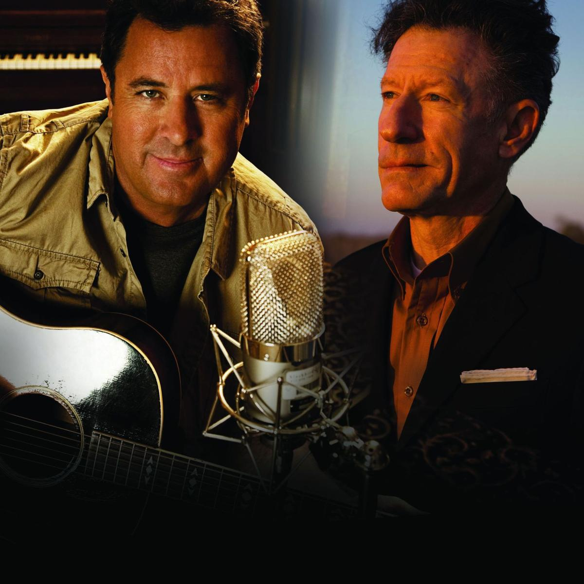 Vince Gill and Lyle Lovett to host a night of 'Songs & Stories'