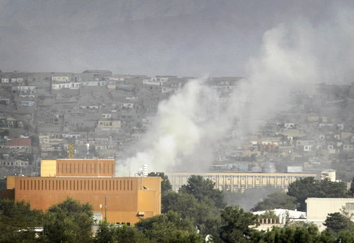 Taliban attack US Embassy, other Kabul buildings
