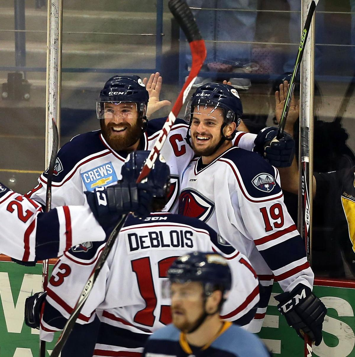 Stingrays look to wrap up series with Toledo Friday night