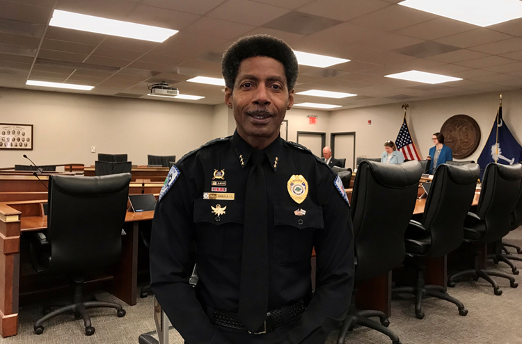 POST AND COURIER – North Charleston police chief's confirmation to run state agency delayed over tax questions
