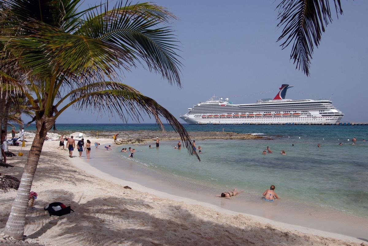 Carnival Cruise Lines leaving Norfolk
