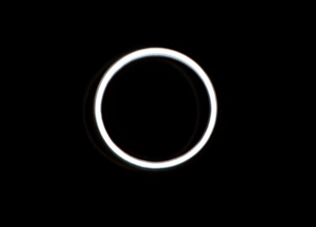 Millions witness rare 'ring of fire' eclipse