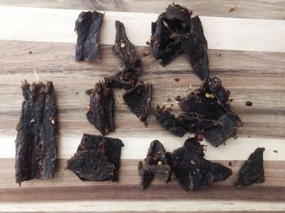 Two Brothers Jerky Famously Hot Beef Jerky