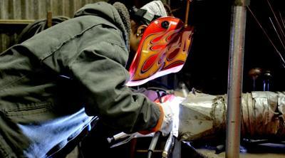 Women welders joining workforce