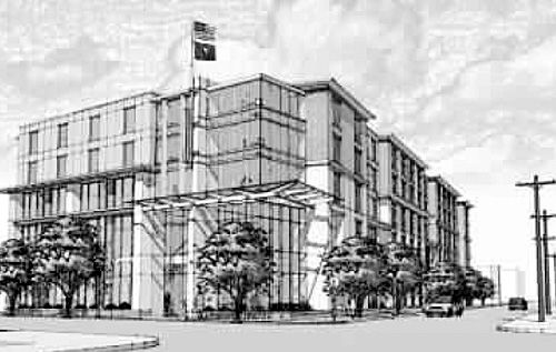Proposed hotel to have contemporary look