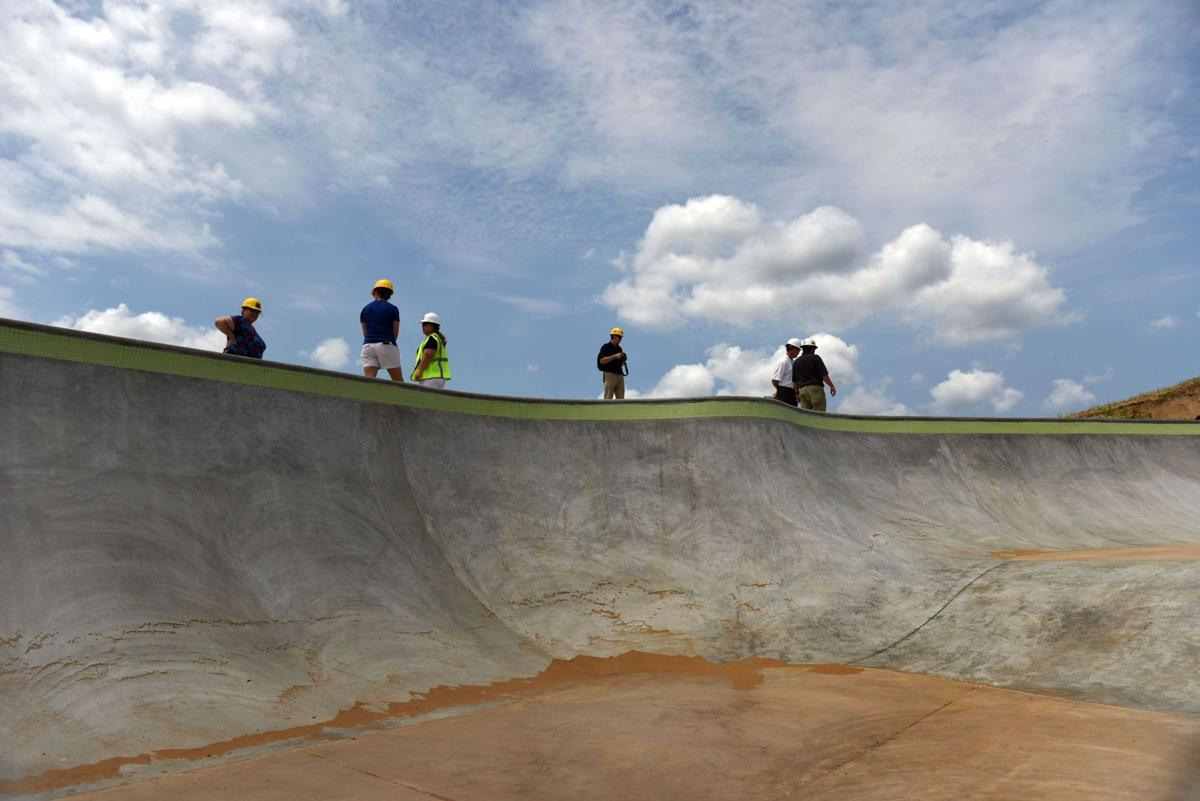 Skate park nearing completion