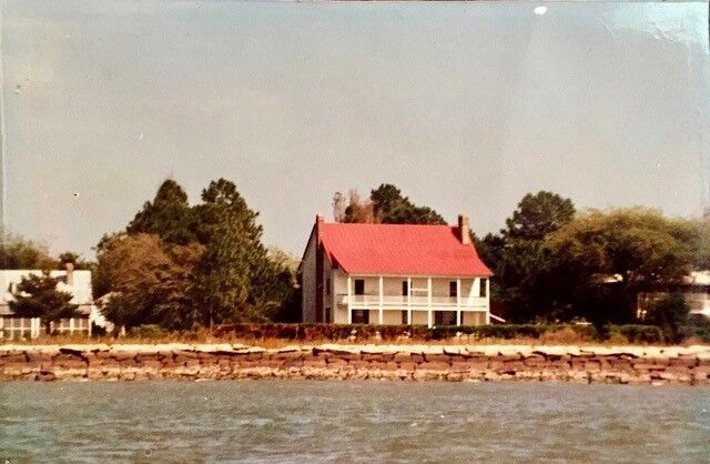 Property at the end of Sullivan's Island, directly across from Ft. Sumter before Hugo