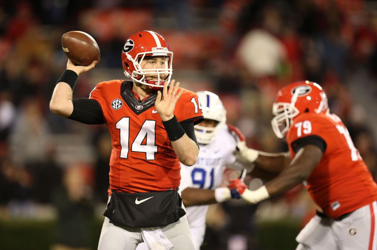 Clemson notes: History shows Georgia passes better than rushes
