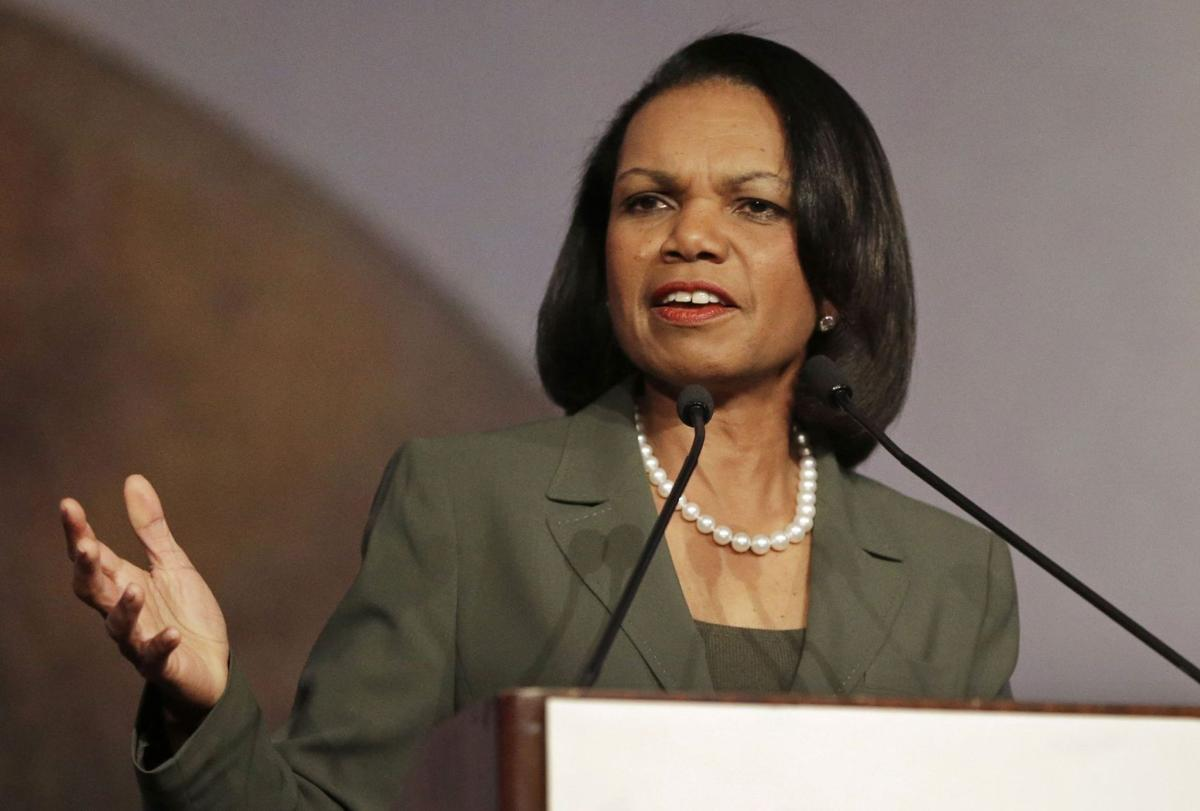 Condoleezza Rice backs out of Rutgers commencement