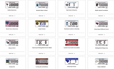 Specialty license plates (copy)