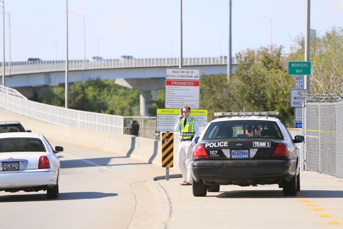 Ravenel Bridge pedestrian walkway shut down after talk of protest