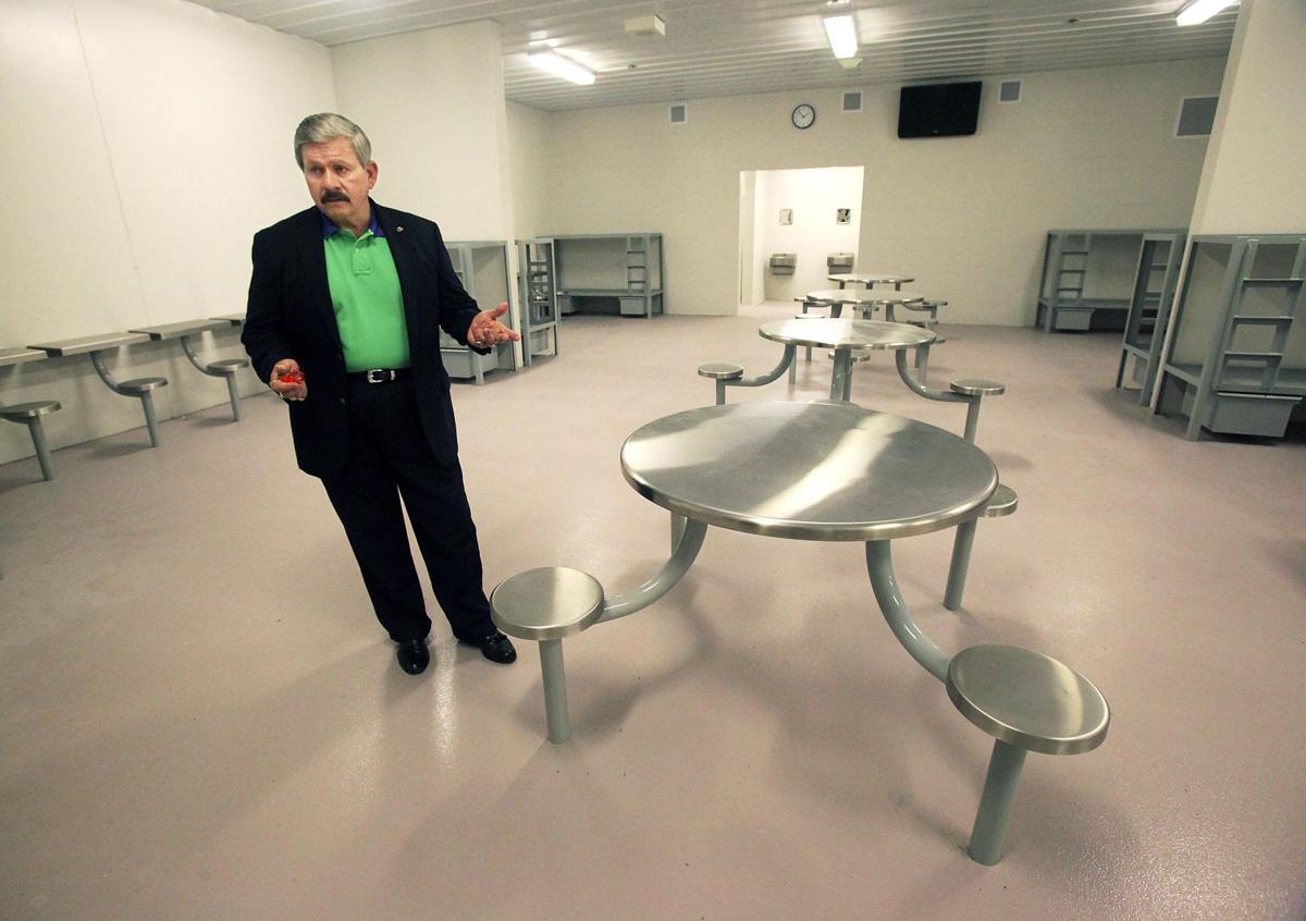 Underutilized jail Crowded Berkeley facility has 2 unused floors