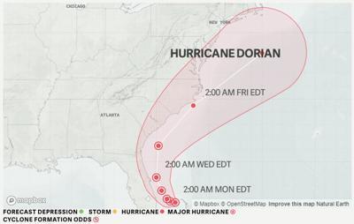 dorian 9/2 5am update