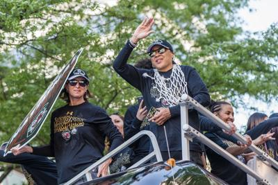 Dawn Staley Championship parade