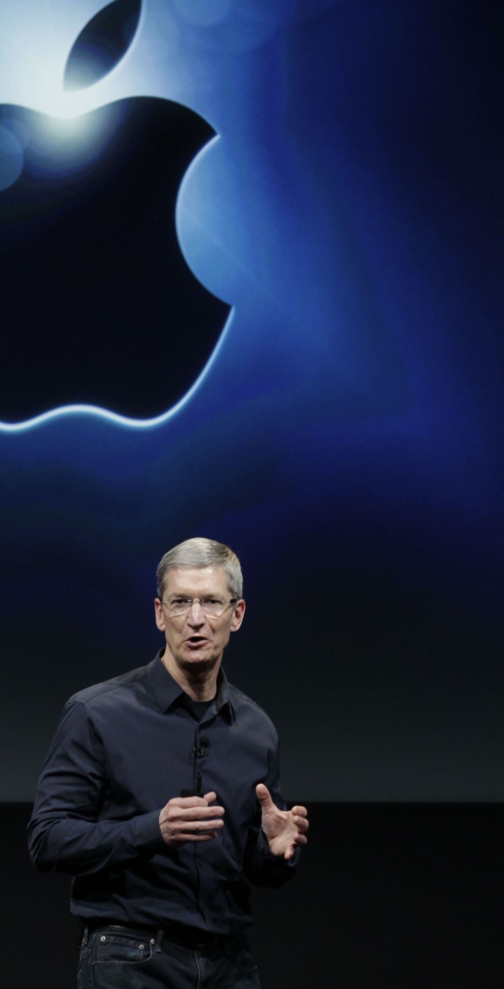 Into his own Apple CEO emerges from Jobs' shadow