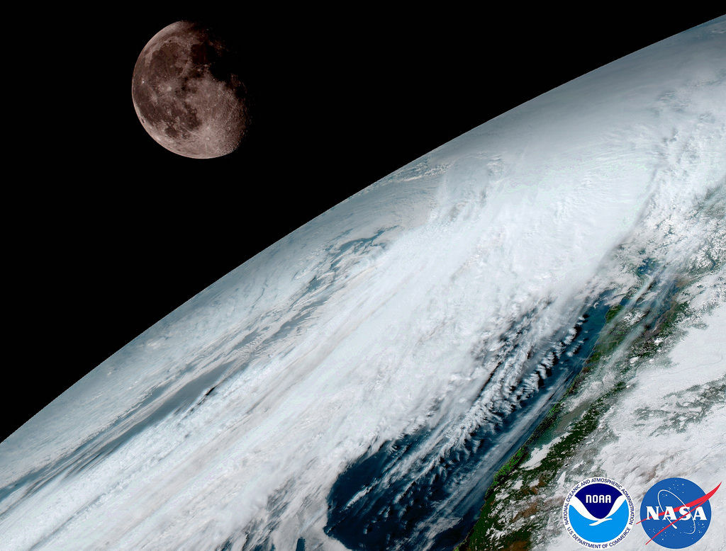 Newest Weather Satellite Launched By NASA Beams First Images Back - Newest satellite images