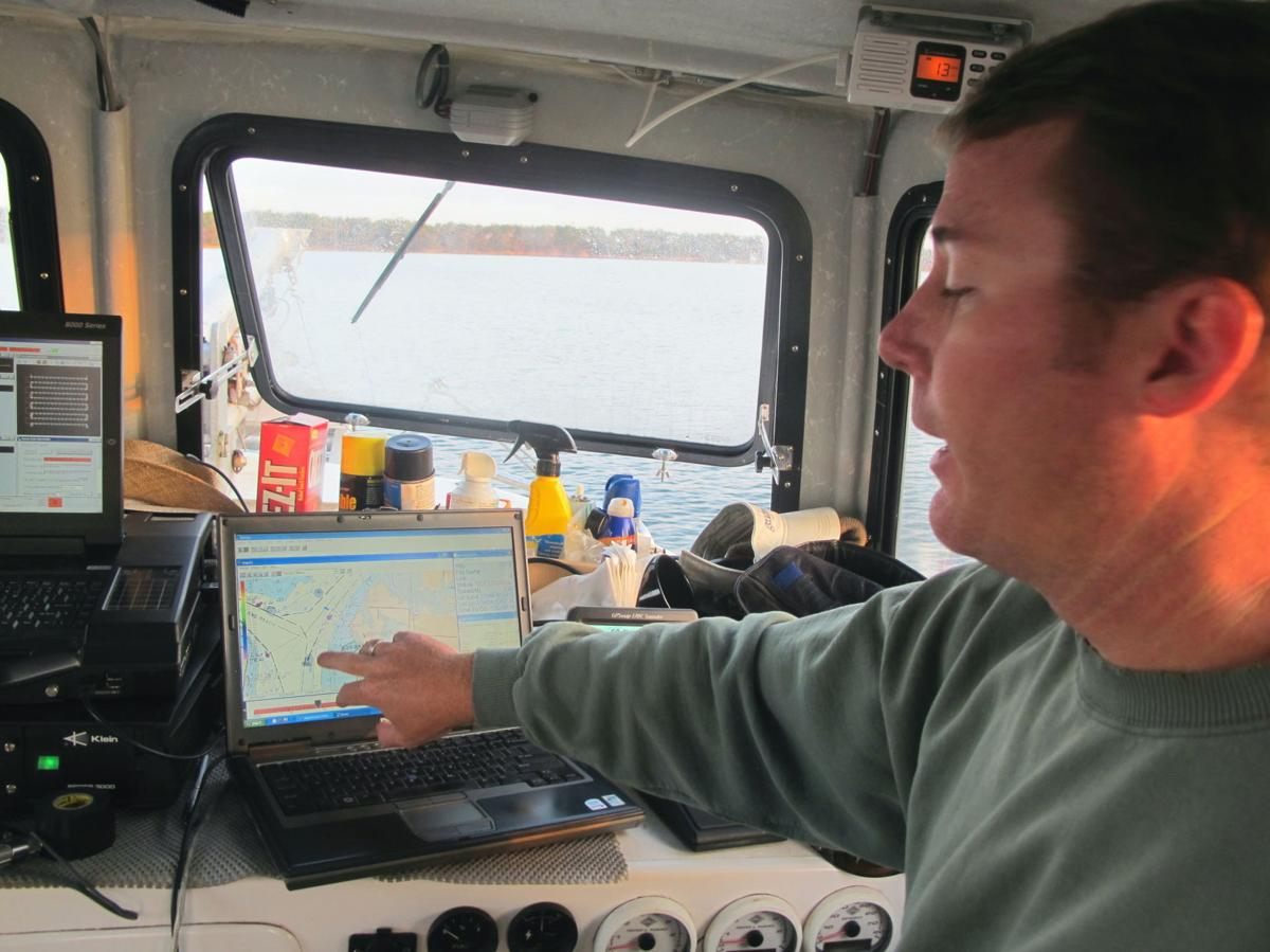 Harbor-deepening researchers hit the water