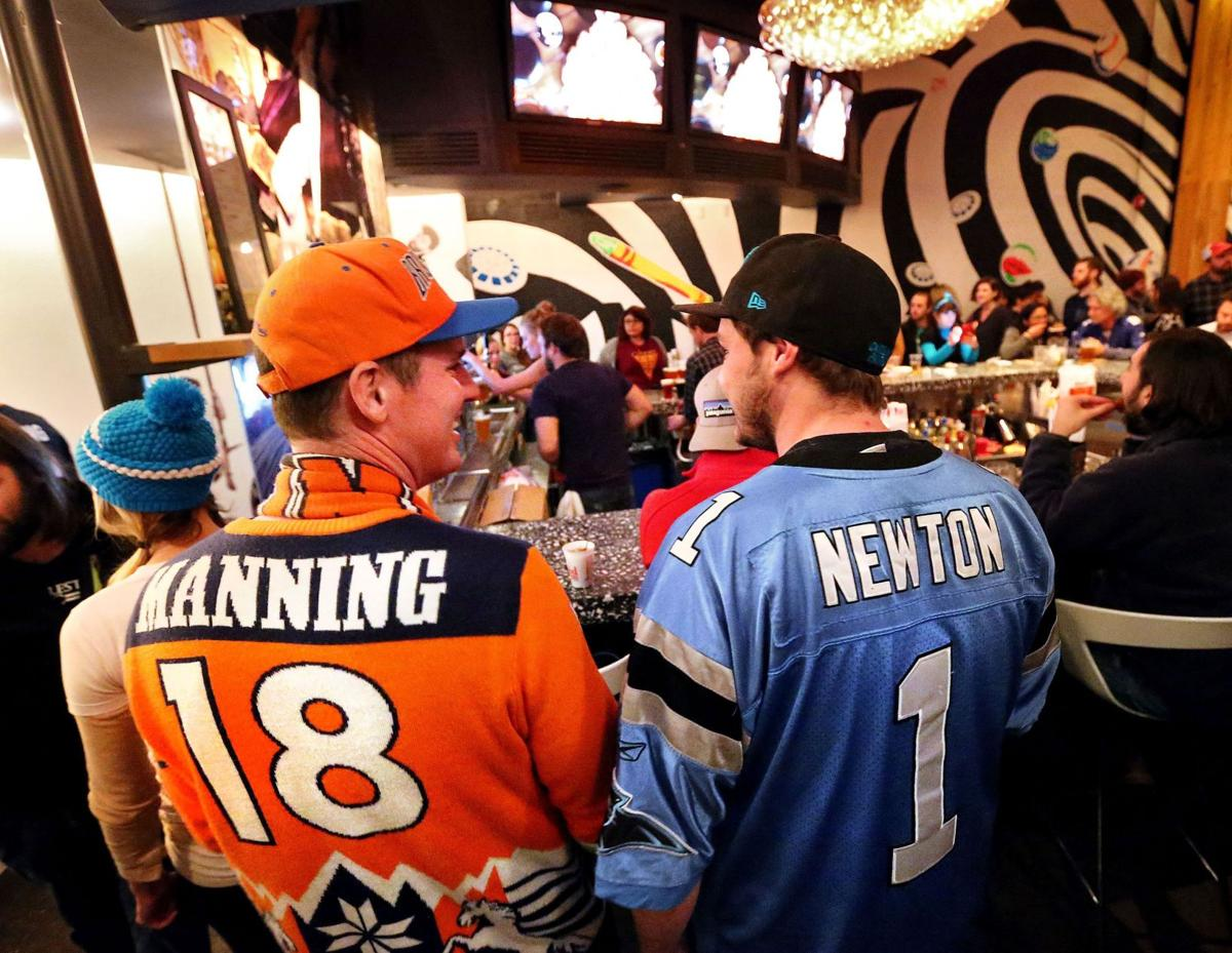 CAROLINA BLUES Fun and fierce rivalries divide families, friends as Denver Broncos best Panthers in Super Bowl